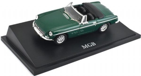 Atlas KL06 1/43 Scale Classic Sports Cars MGB MG Green OPen
